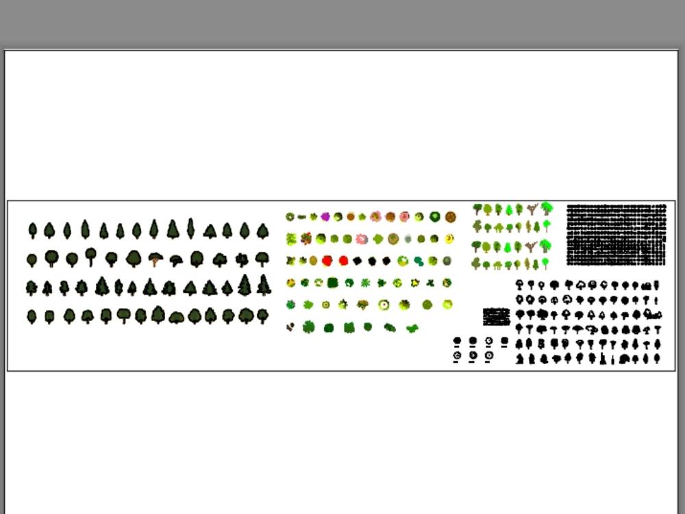 Diseño de vegetacion paisajistica