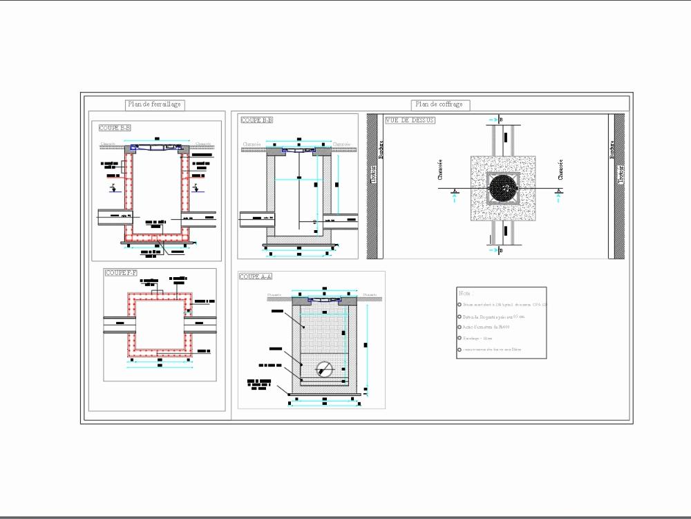 Inspection chamber design (hydraulic)