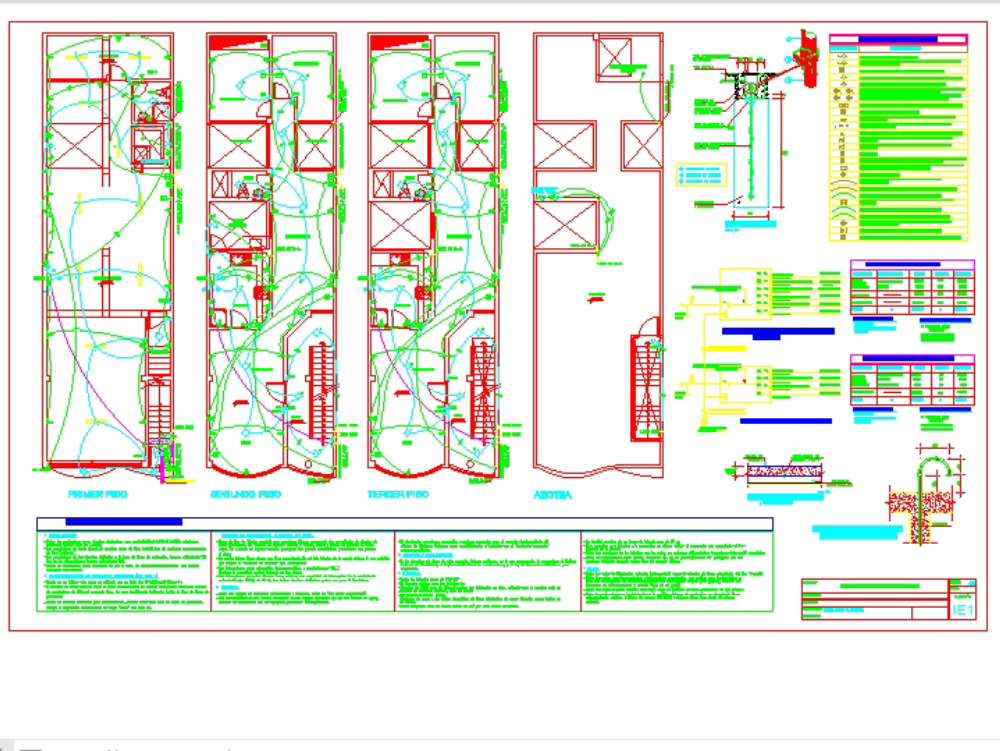 Commercial housing of 6.00 mx 20.00 m