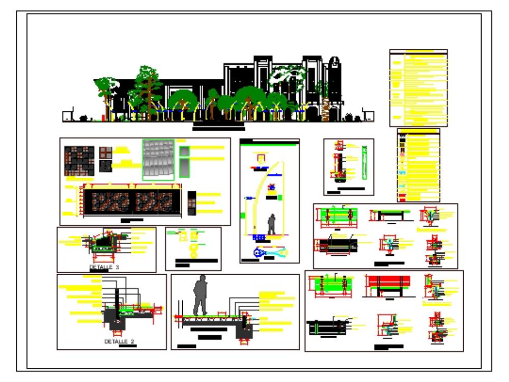 Urban infrastructure details