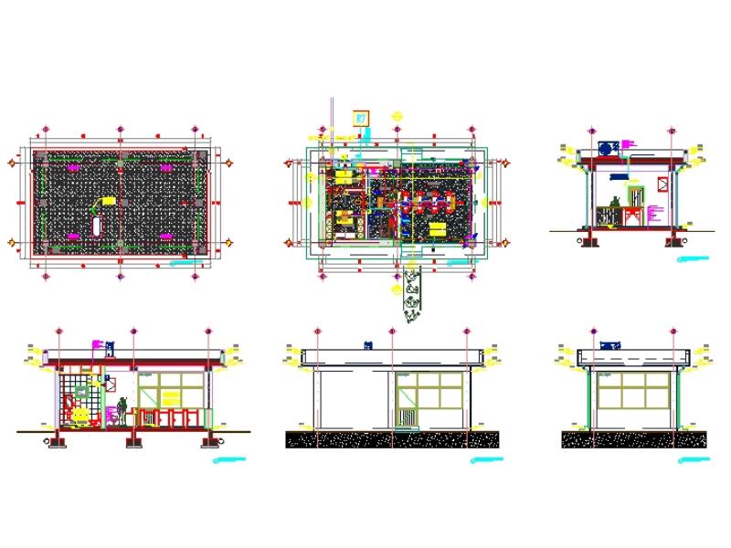 Guard house construction design project
