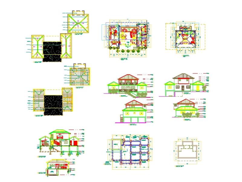 Modern floor pl design residential