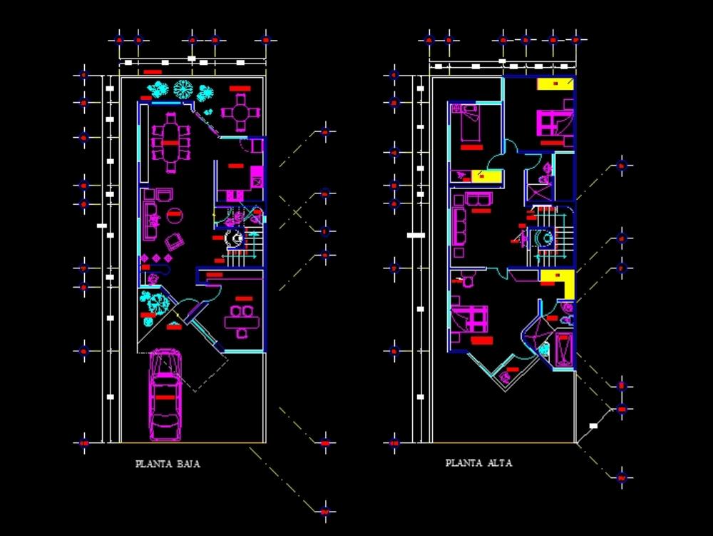 House room ground floor and upper floor