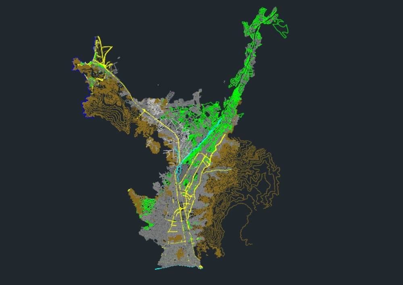 Lima norte plano completo de los 8 distritos