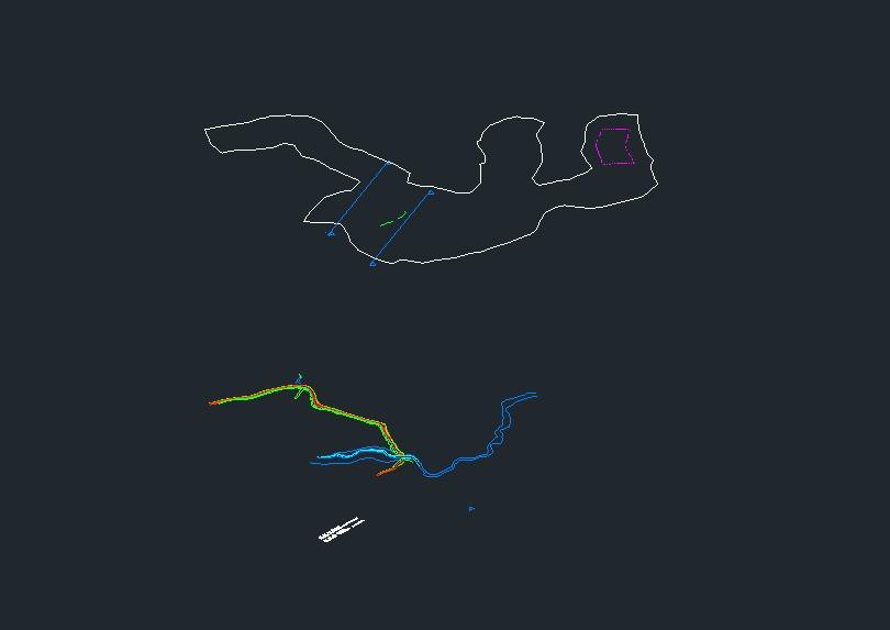 Platform; highway; landfill and plot in civil 3d