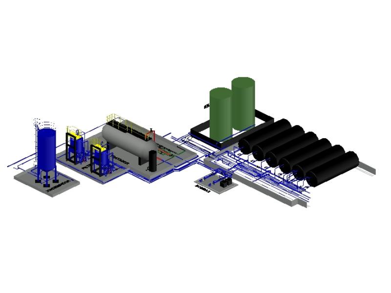 Sistema inyeccion de agua en 3d