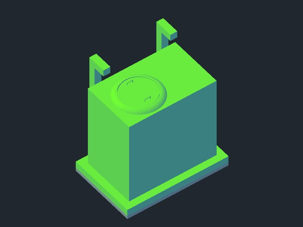 Flowmeter chamber - system