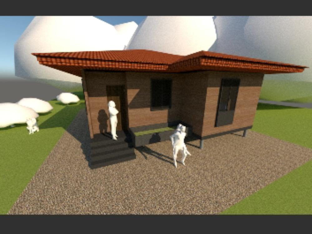 Holzeinfamilienhaus hcs