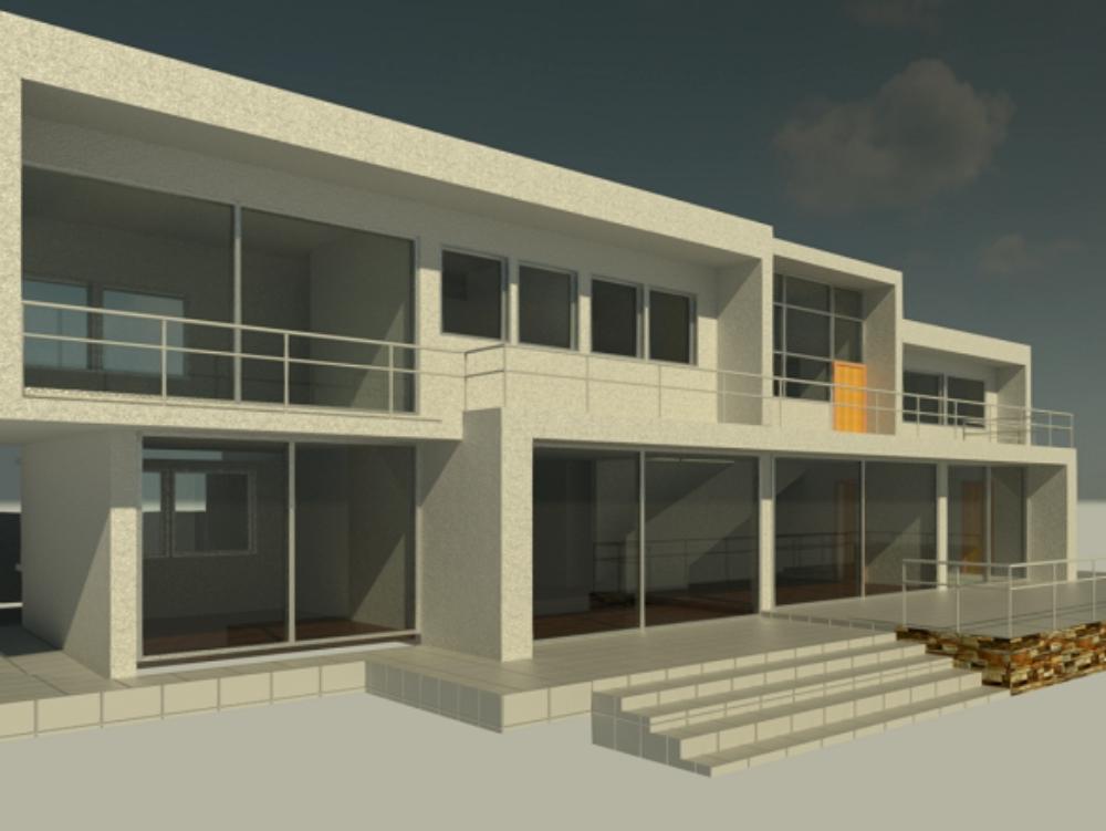 Revit house