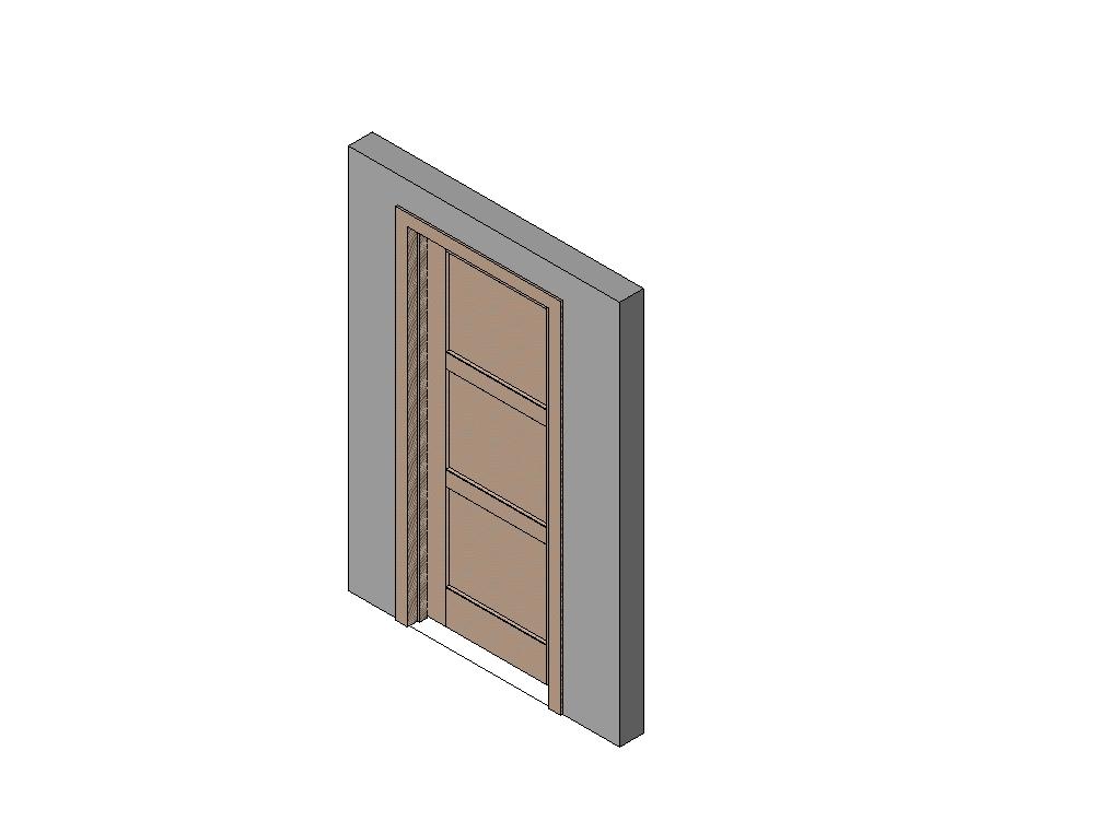Familia  puerta  paramétrica