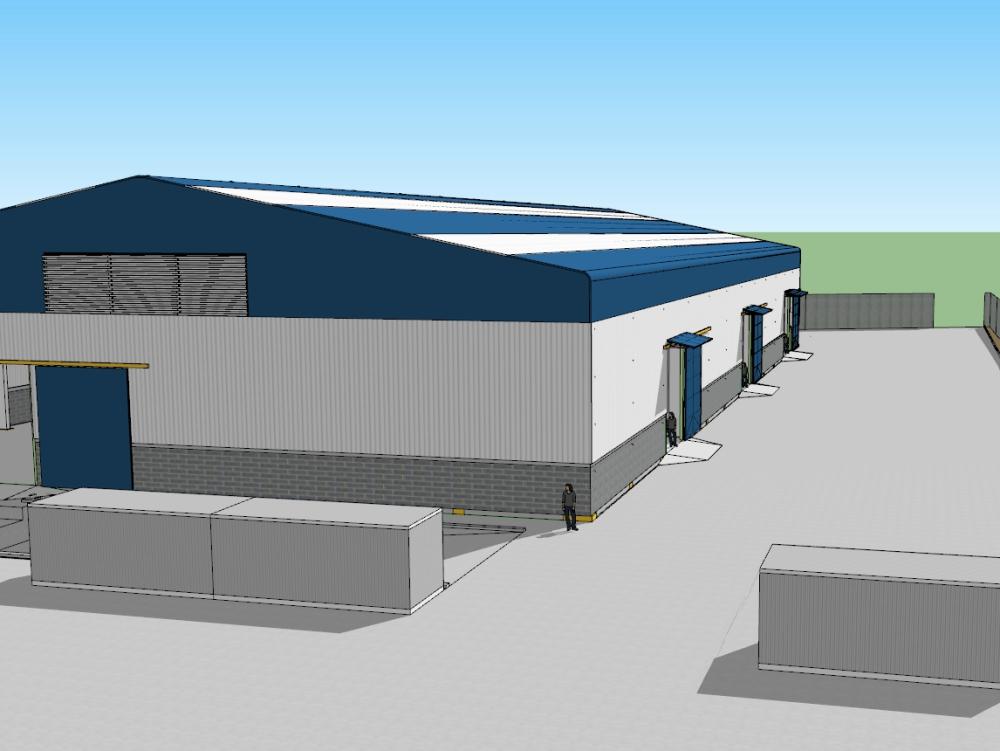 Warehouse warehouse company netafin chile