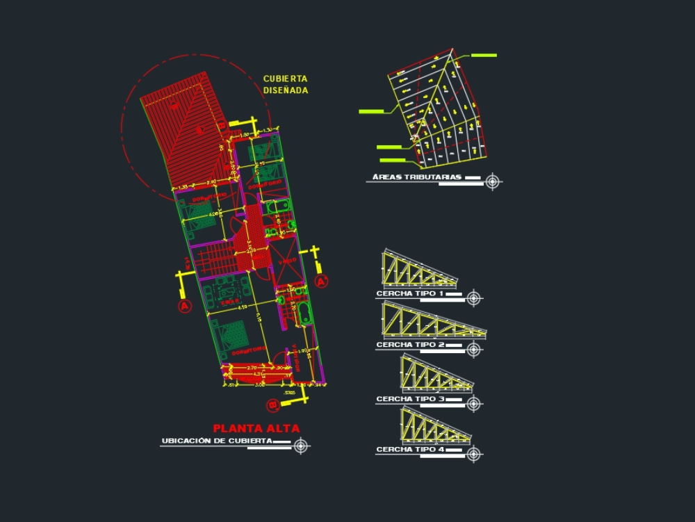 Structural Roof Deck Plans