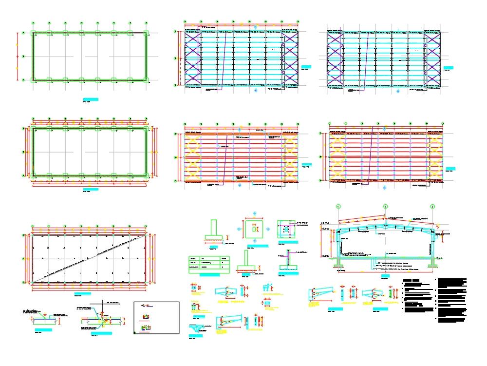 Diseño estructural del marco del portal según los estándares británicos