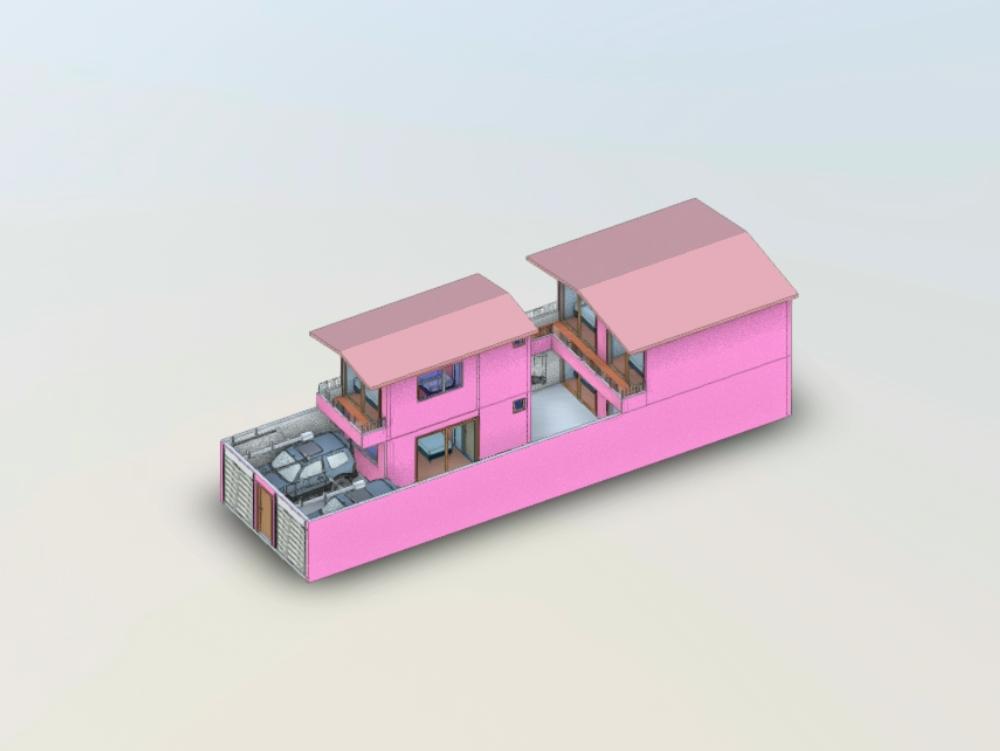 Beach house 3d project mancora piura