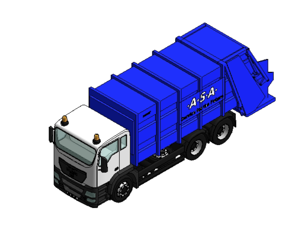 Garbage truck rfa format