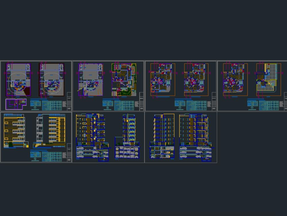 Multifamiliar 7 pisos - miraflores