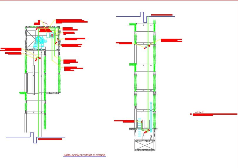 Elevator electrical installation