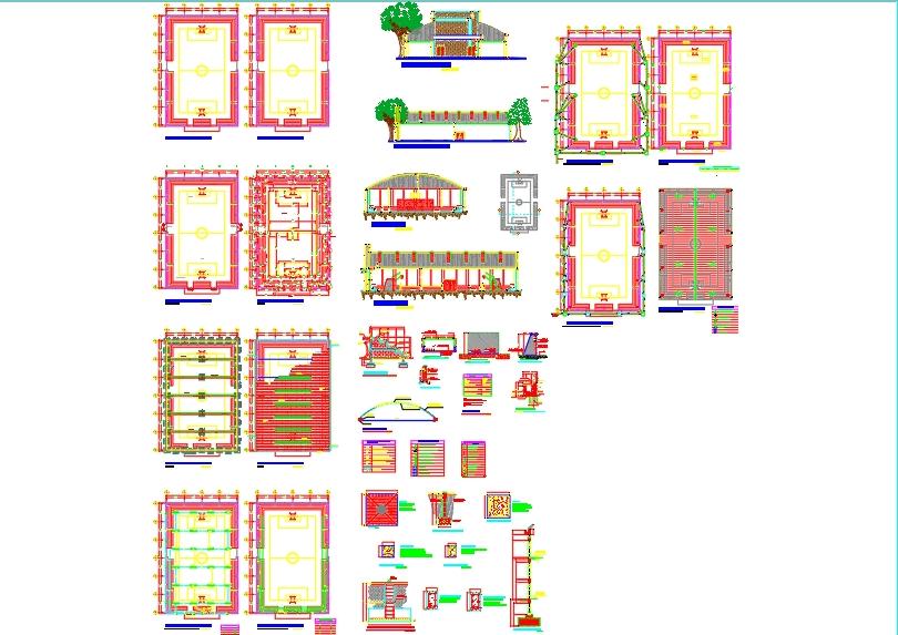 Indoor soccer field plans