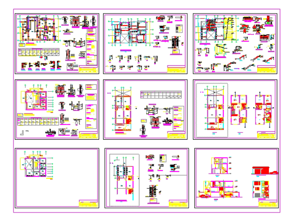 Single-family house 3 levels