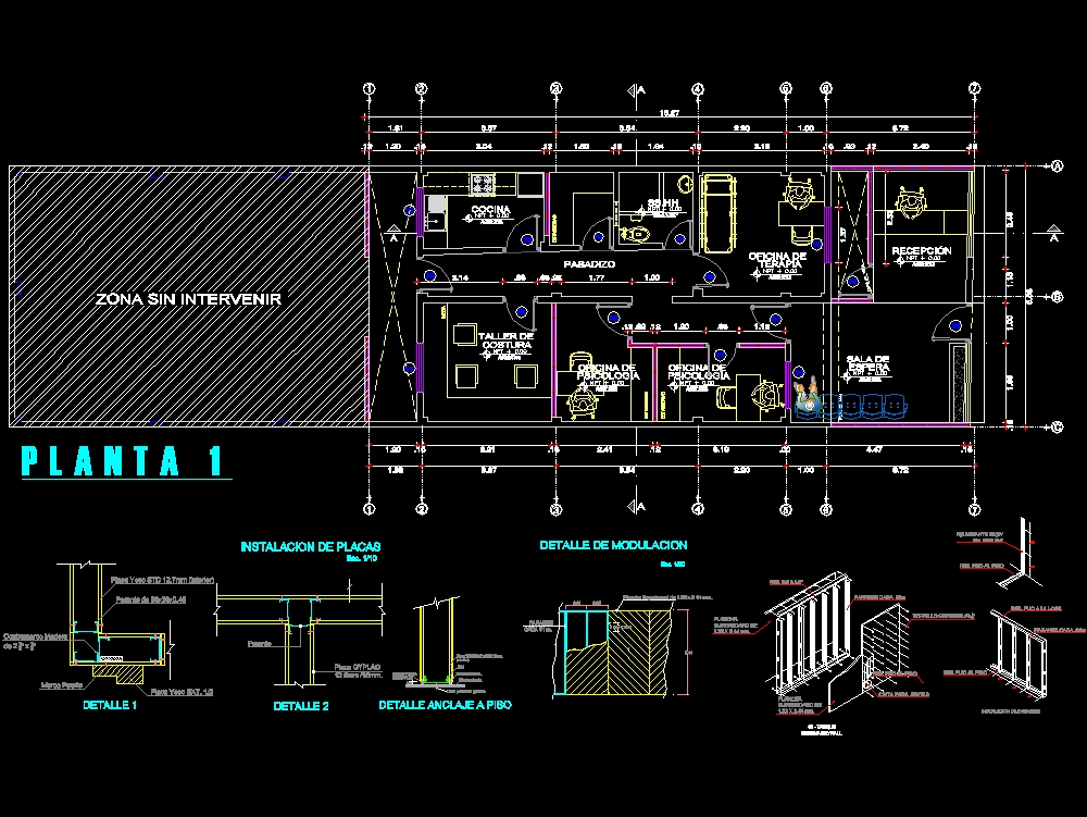 Structural system of multipurpose room