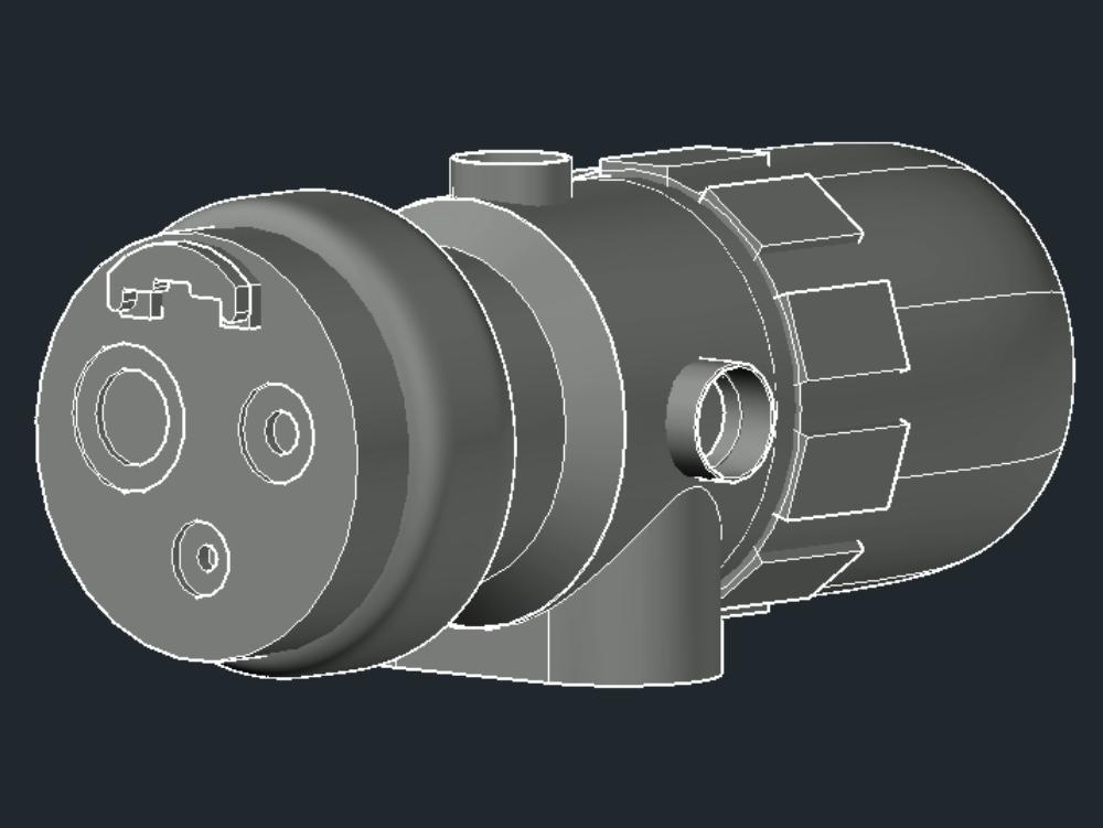 Detector de fuego  ultravioleta e infrarrojo