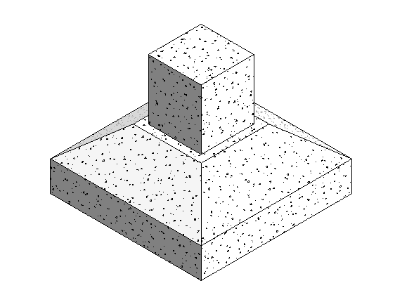 Revit- centered footings; dividing and cornering
