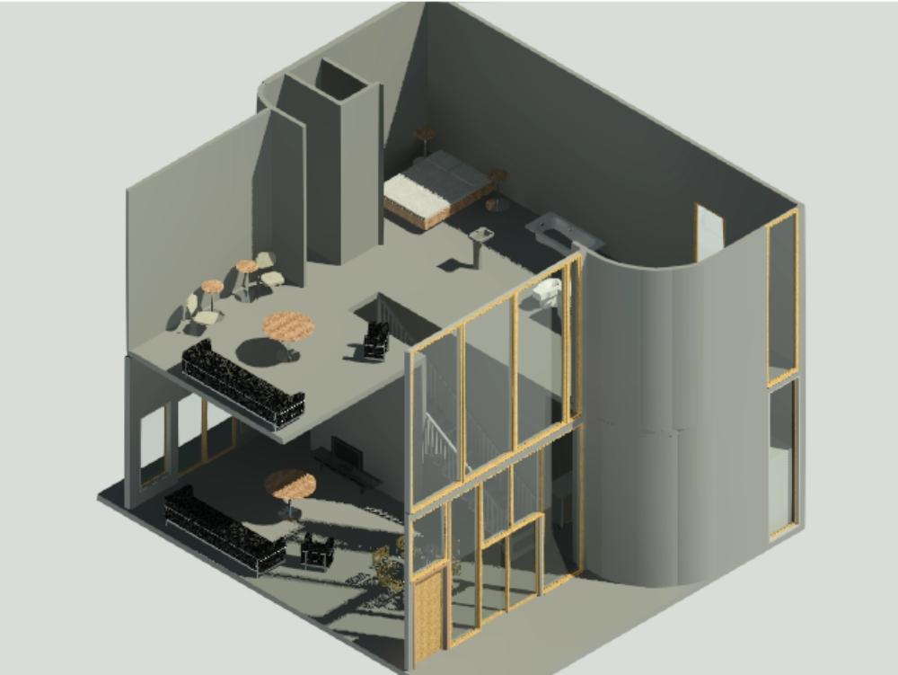 Casa e2211, arquitecto ravel