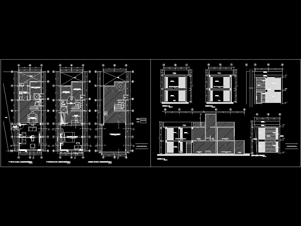 2-level basic housing module expansion