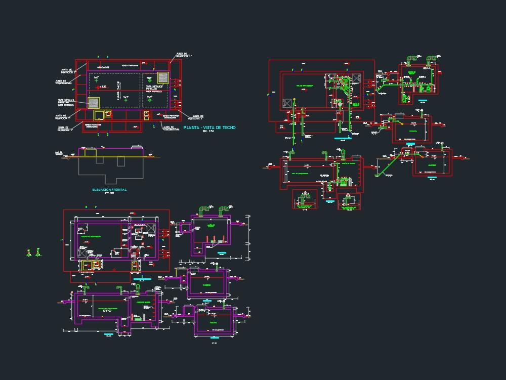 Sistema de cisternas calculo hidraulico