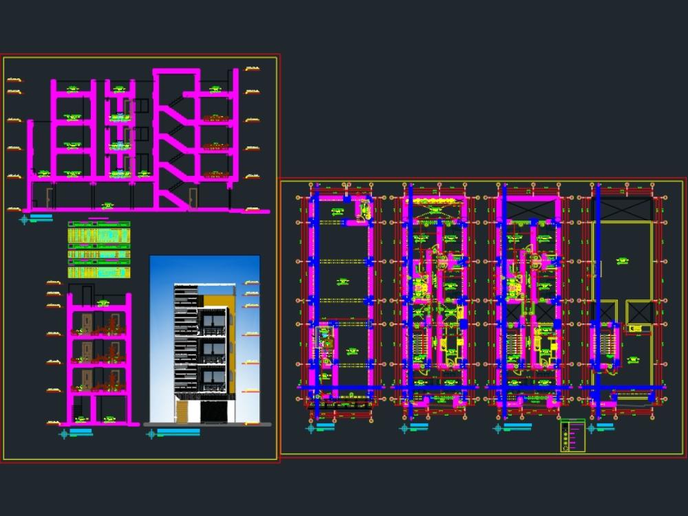 In Gebäuden planen
