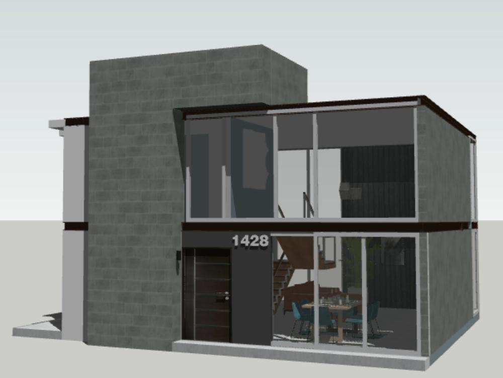 Loft modernista