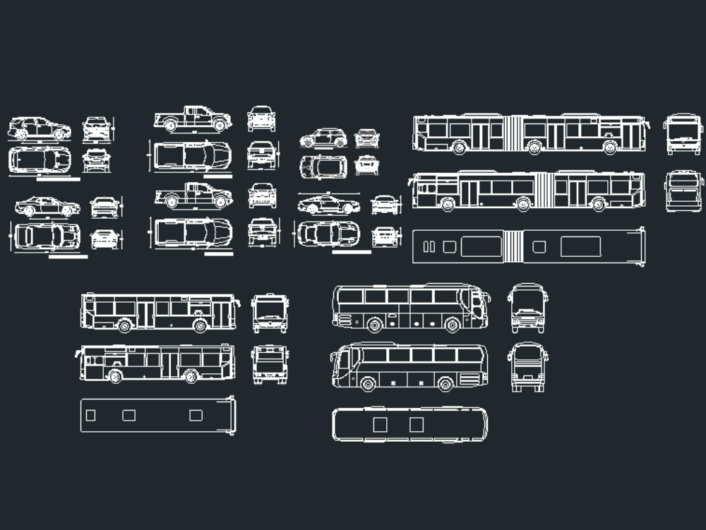 Contemporary vehicle collection