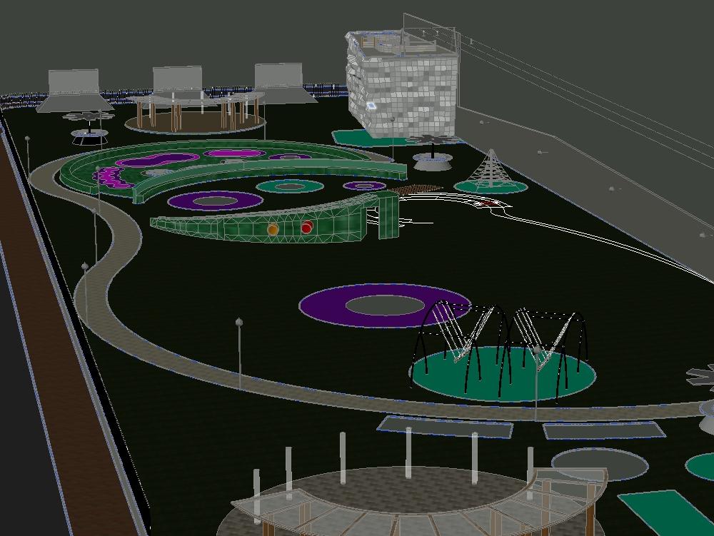 Recreational park for diverse fun