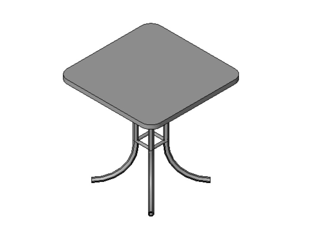 Terrace table; in revit version 2019