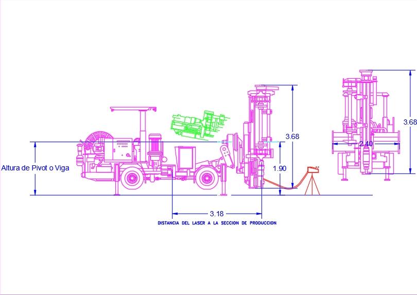 Simba h1254 underground mining