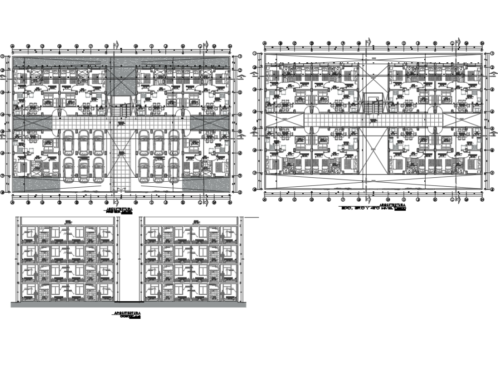 Condominio; multifamiliar de 4 niveles