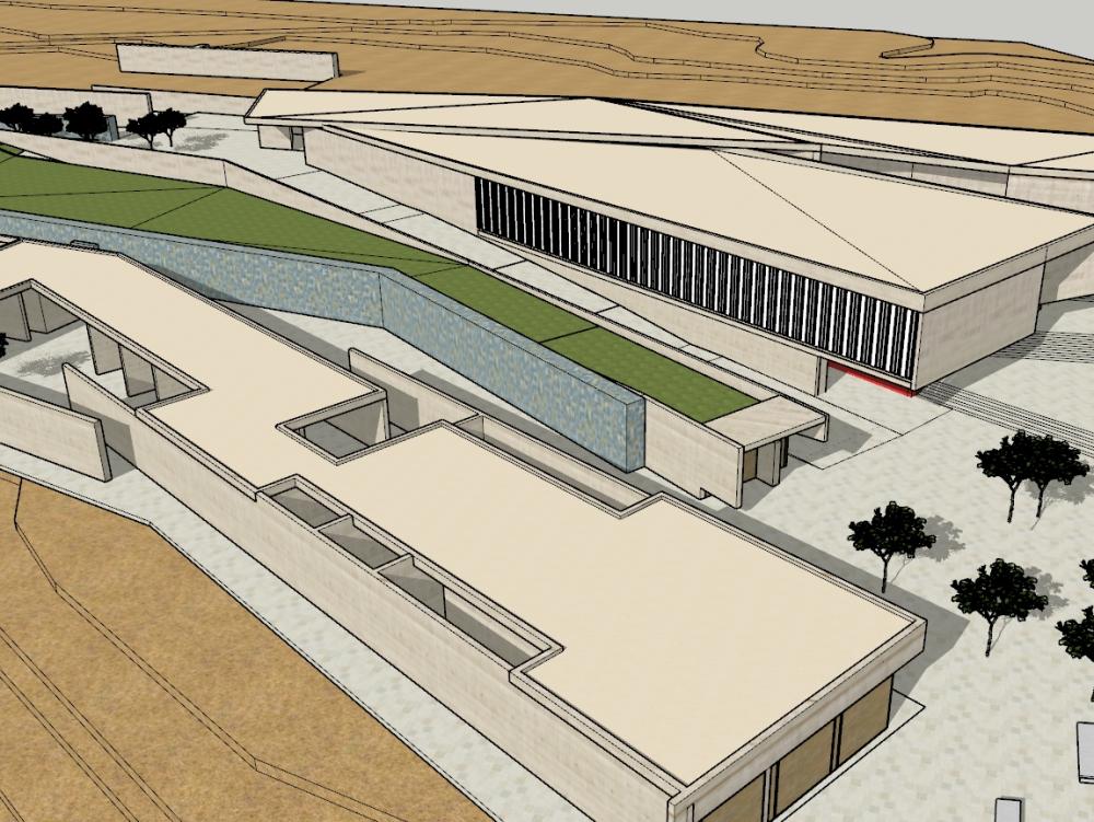 Museo de sitio del santario de pachacamac
