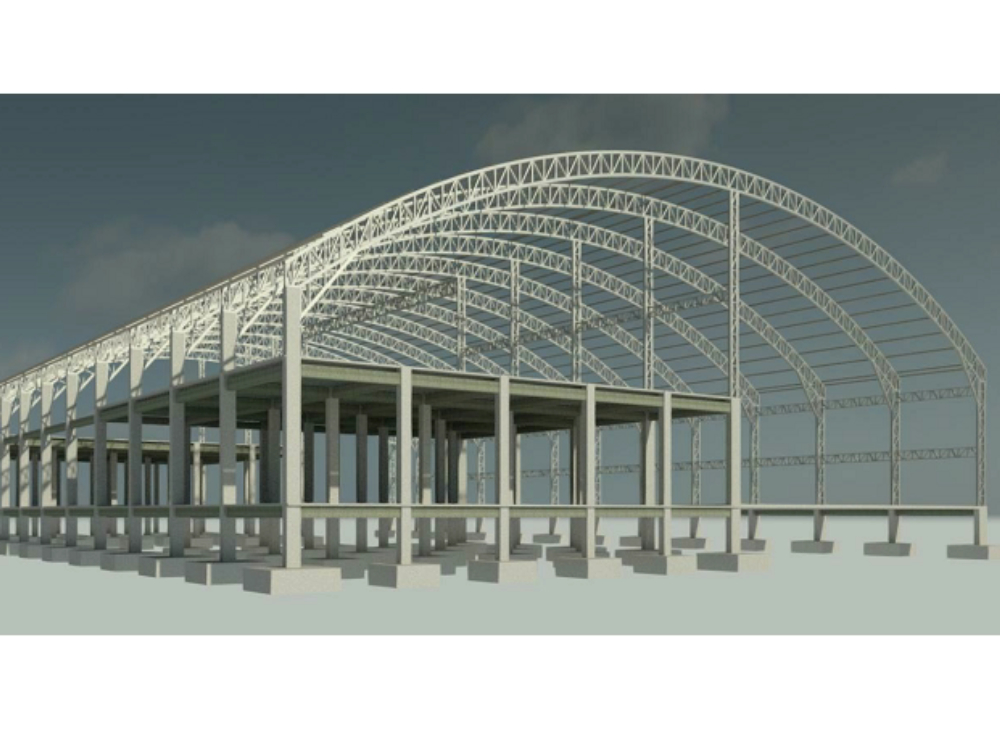Warehouse of 60 meters of light