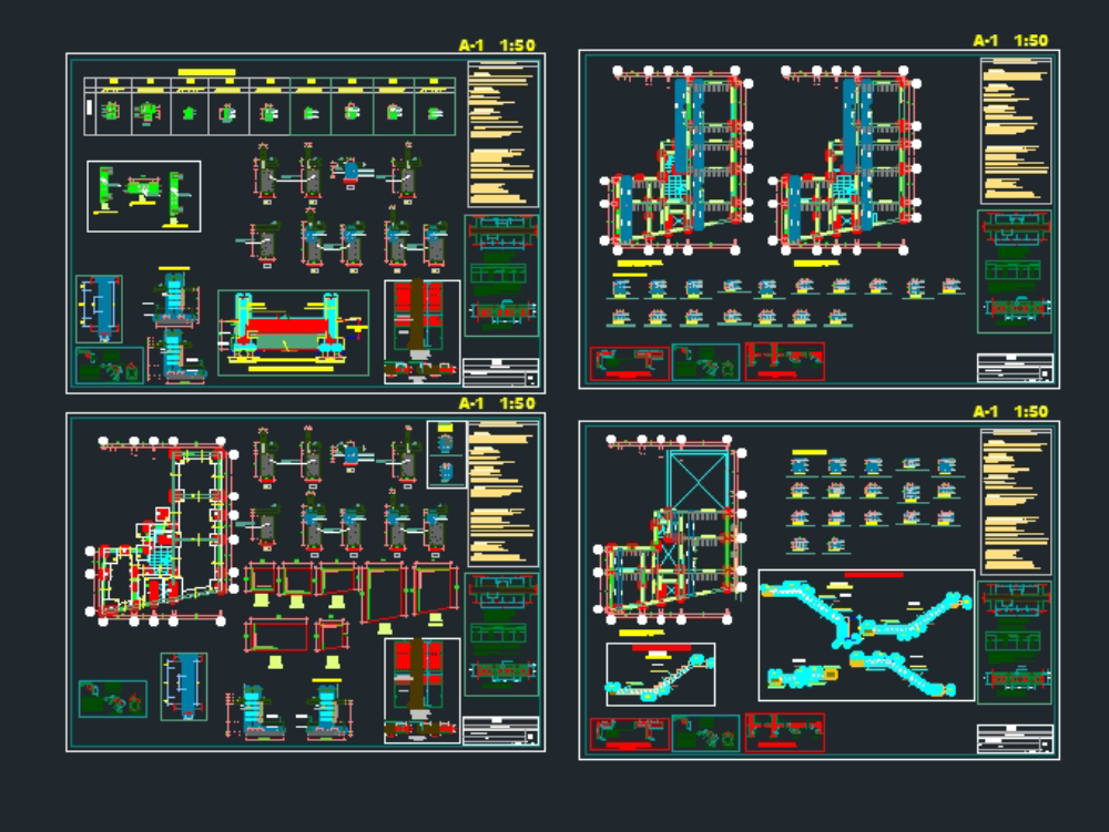 Arquitectura de vivienda de 3 niveles