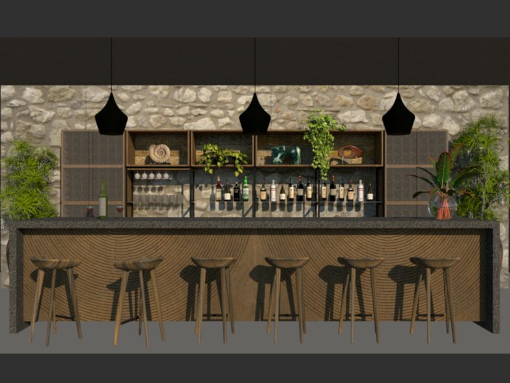 Bar _diseño interior _