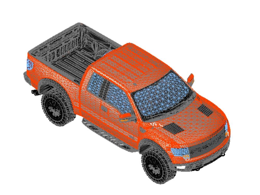 Gran camioneta ford 150 raptor pickup