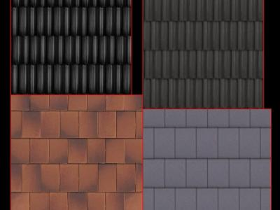 TEXTURES OF ROOFS