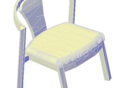 CHAIR - ARMCHAIR 3D model NIDO