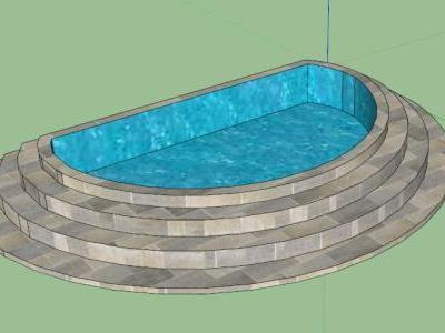 Jacuzzi small 3D