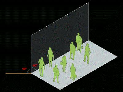 axonometric people
