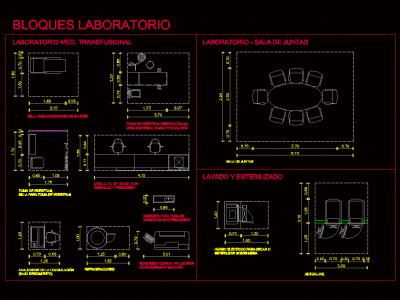 Laboratory furniture Hospital