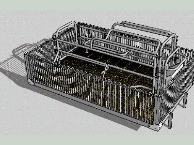 Maternity cage