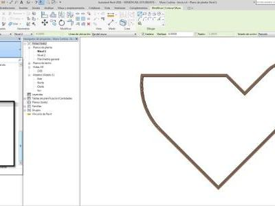 Revit 2018 template that unifies standard curtain walls