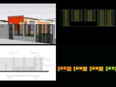 3d Model and Porton Building Plans