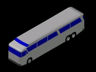 URBAN BUS IN 3D